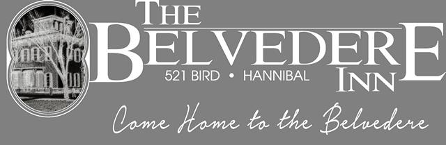 Belvedere Inn logo white